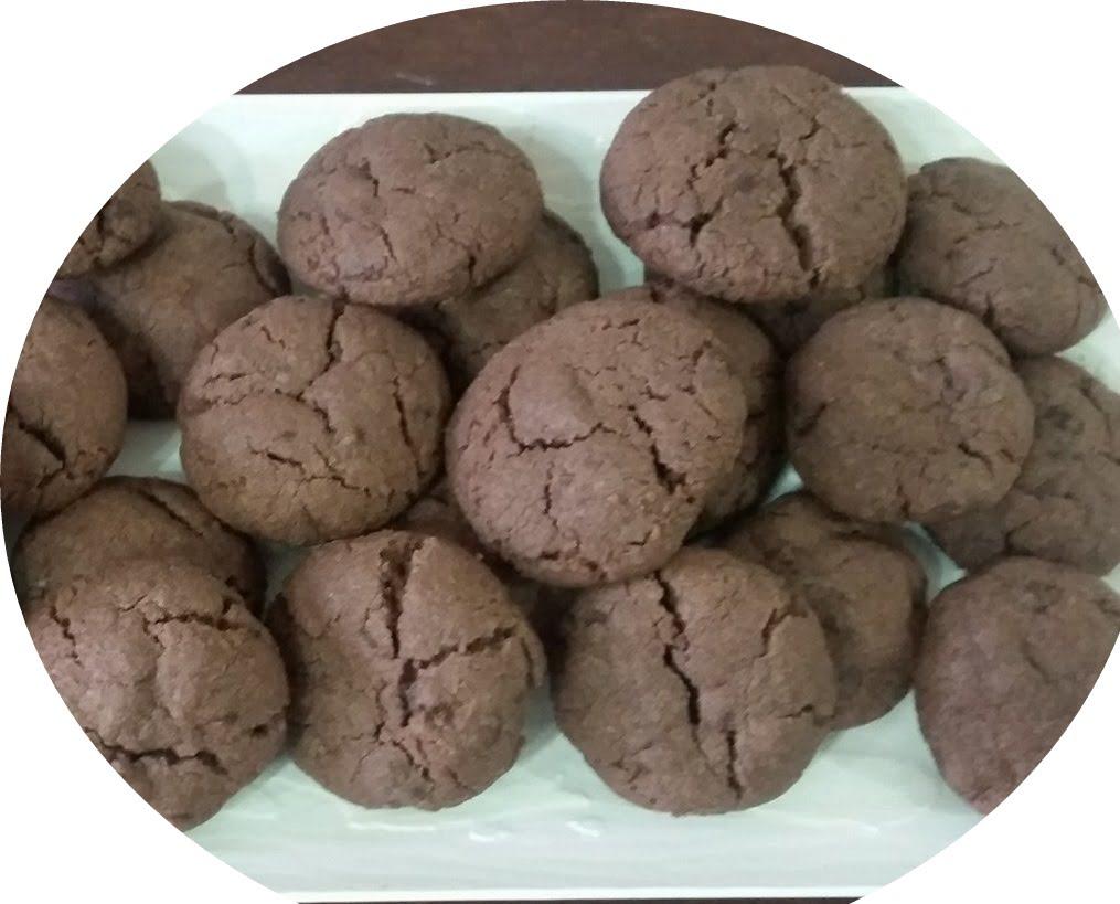 עוגיות שוקולד וטחינה