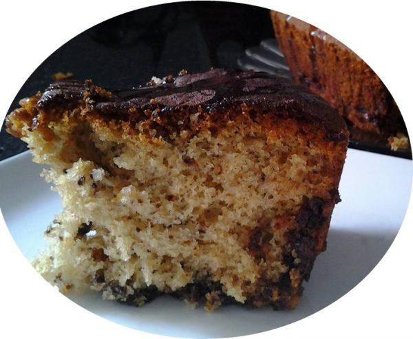 עוגת אגוזים דבש ושוקולד צ'יפס