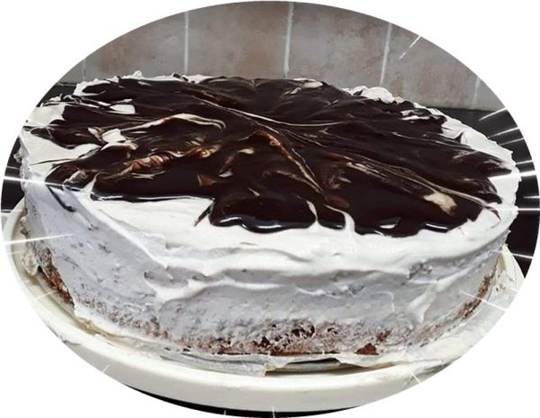 עוגת אגוזים 'קוקוס,ושוקולד לפסח