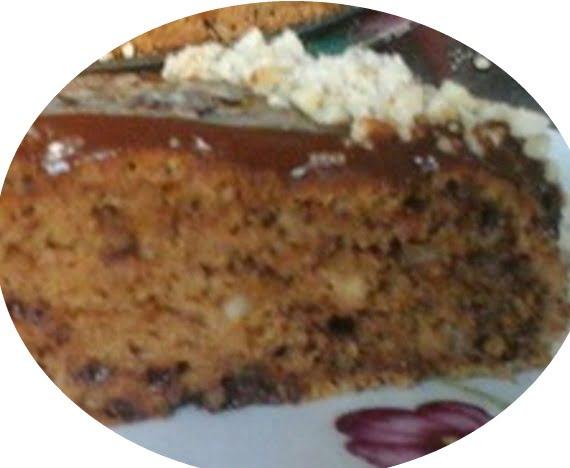 עוגת אגוזי לוז ושוקולד