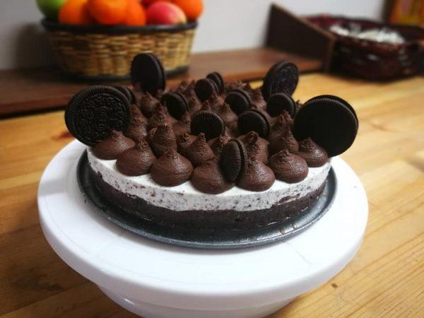 עוגת אוריאו ושוקולד מושחתת