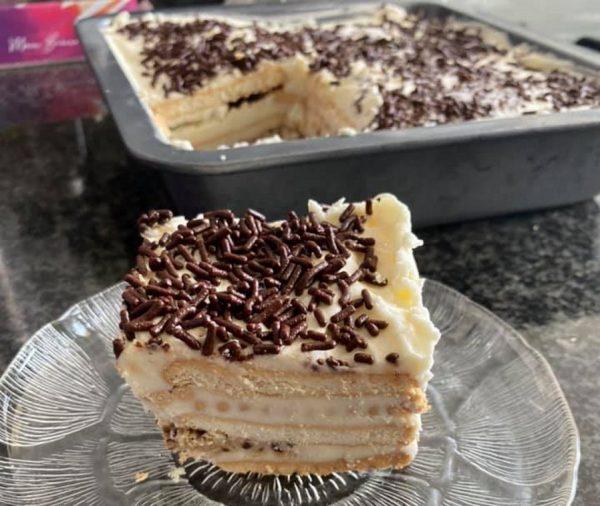 עוגת ביסקוויטים נהדרת