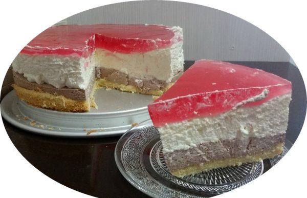 עוגת גבינה,ארבע שכבות של שיכרון חושים