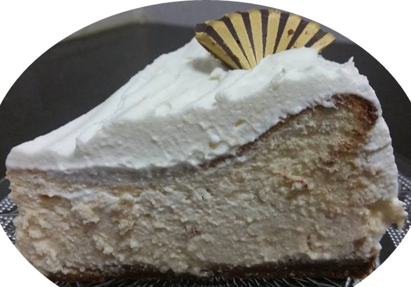 עוגת גבינה אפויה עם חמאת בוטנים עם שברי בוטנים