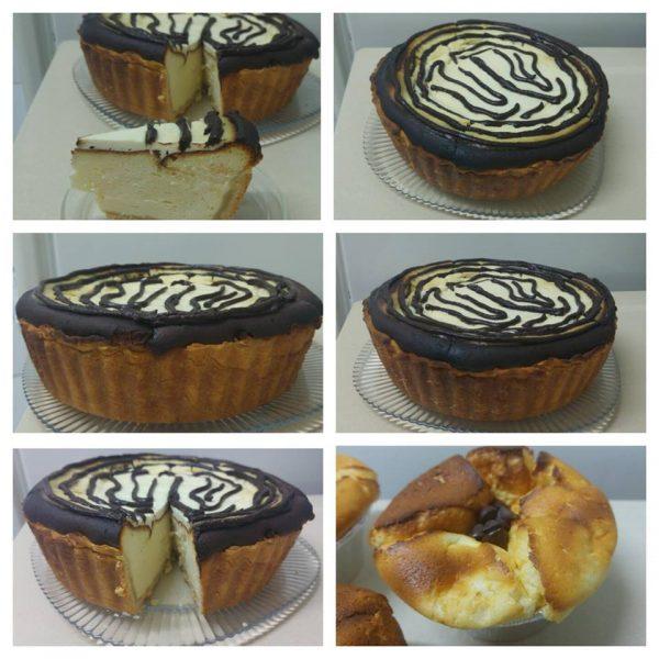 עוגת גבינה בתבנית פאי עמוקה