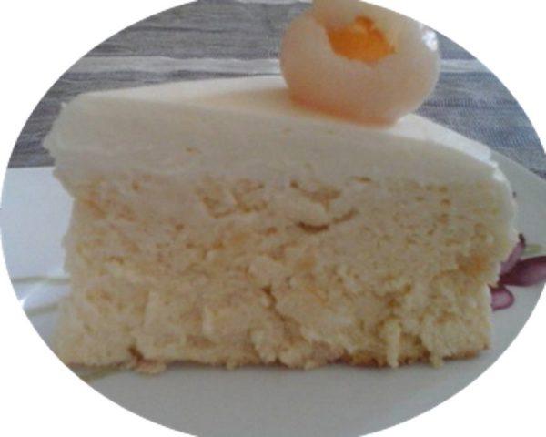 עוגת גבינה וליצ'י