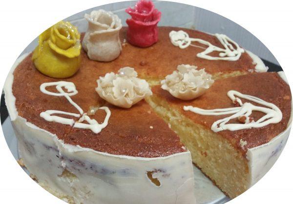 עוגת גבינה, סולת ומייפל
