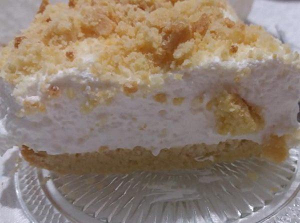 עוגת גבינה פירורית