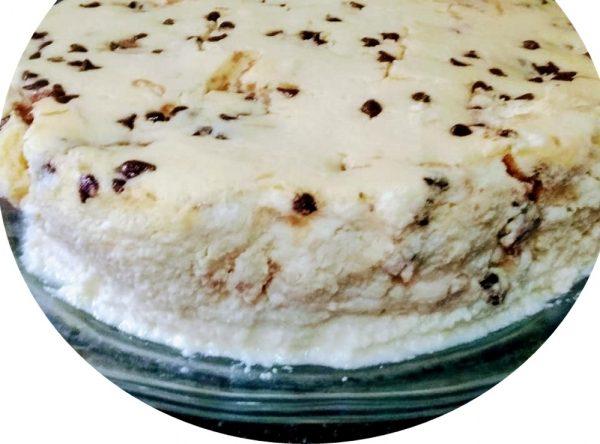 עוגת גבינה ,פניני שוקולד וקרם עוגיות