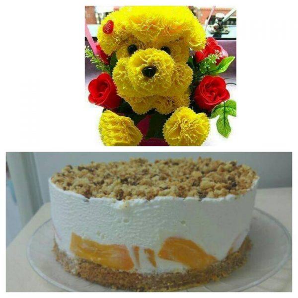 עוגת גבינה קרה ללא אפיה ברינג