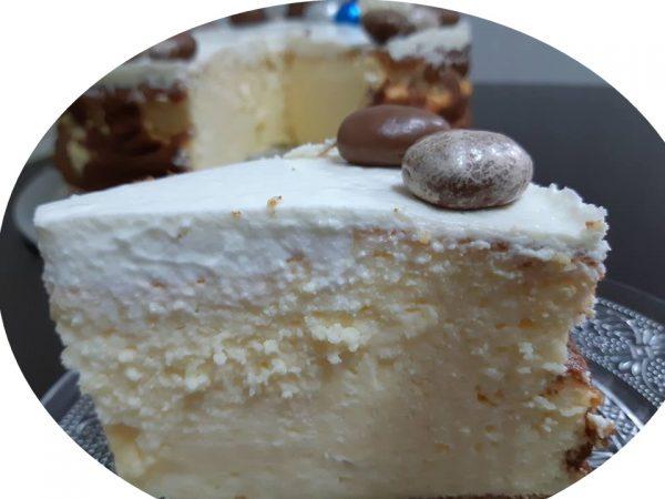 עוגת גבינה קרמית ,ללא גלוטן,דיאטטית