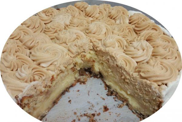 עוגת גבינה, תפוחי עץ ושוקולד לבן – כשרה לפסח