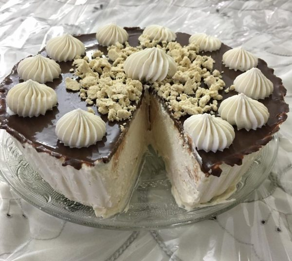 עוגת גבינת מוס חלבה