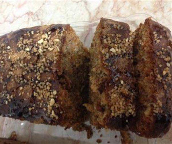 עוגת גזר אגוזים וסירופ מייפל