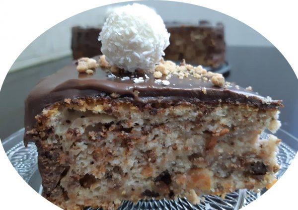 עוגת גזר ואגוזים בציפוי שוקולד_מתכון של אורנה ועלני