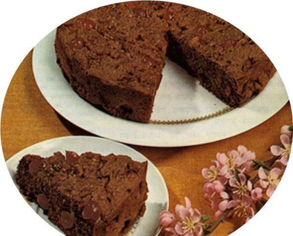 עוגת דובדבנים חמה