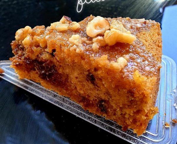 עוגת דלעת עם קוקוס ,שוקולד צ'יפס ואגוזי מלך