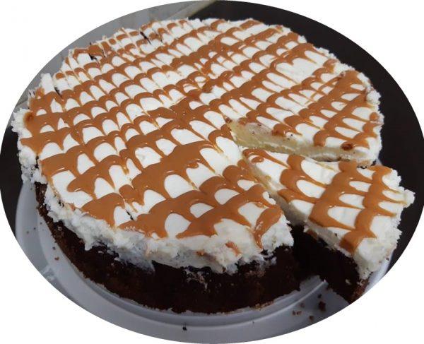עוגת וניל,נוטלה וריבת חלב בחושה_מתכון של אורנה ועלני