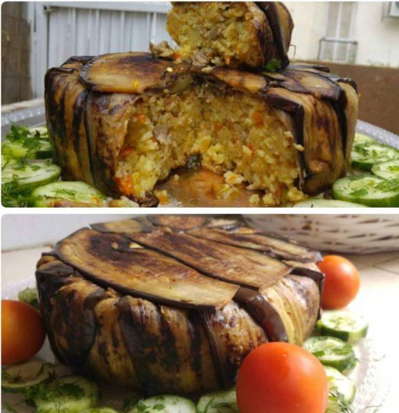 עוגת חציל