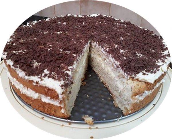 עוגת טורט וניל