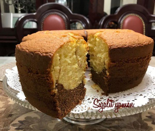 עוגת טורט תפוז קקאו