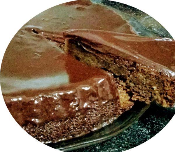 עוגת יוגורט ושוקולד