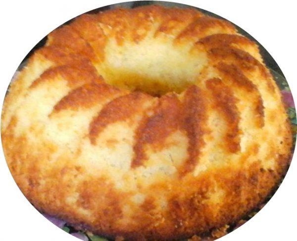 עוגת לימון וקוקוס