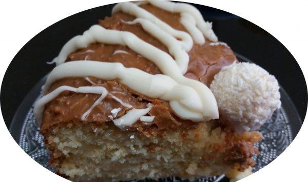 עוגת לימון ושוקולד לבן