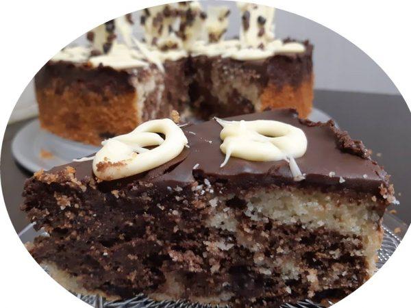 עוגת סולת ושוקולד משוישת_מתכון של אורנה ועלני