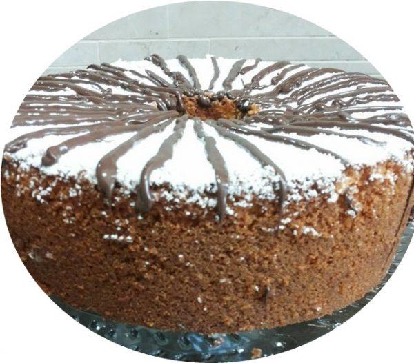 עוגת סולת קוקוס ותפוזים