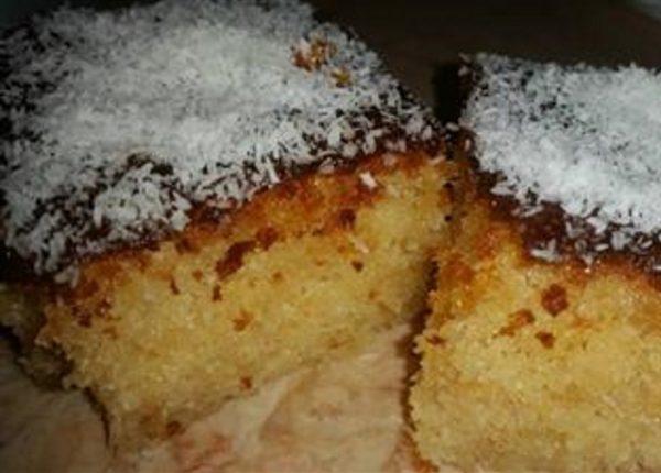 עוגת סולת קלה