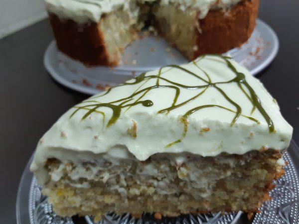 עוגת פיסטוק כשרה לפסח