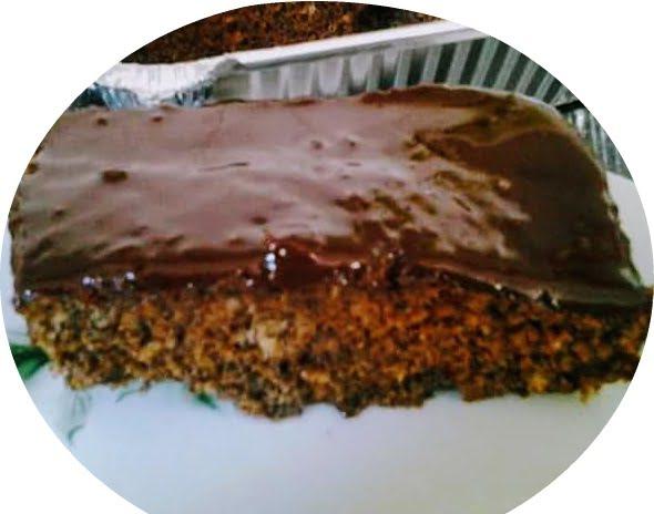 עוגת פרג ושוקולד גנאש טעימה במיוחד