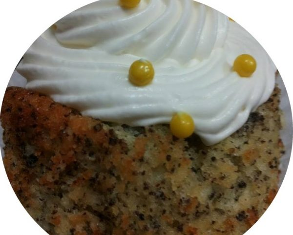 עוגת פרג ותפוז
