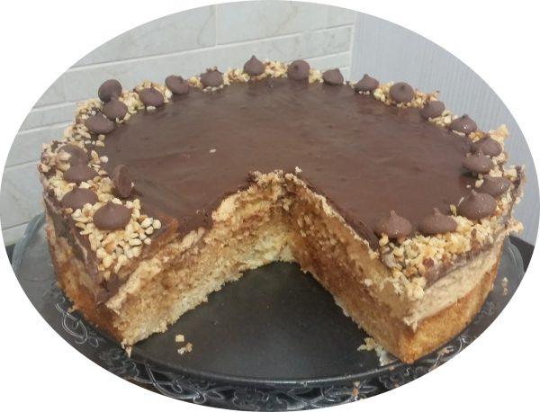 עוגת קוקוס, קרם קוקוס וריבת חלב משוישת