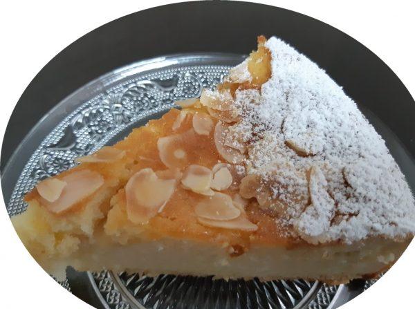 עוגת ריקוטה,לימון ושקדים בחושה_מתכון של אורנה ועלני