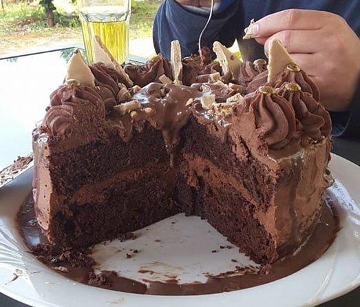 עוגת שוקולד אקסטרא