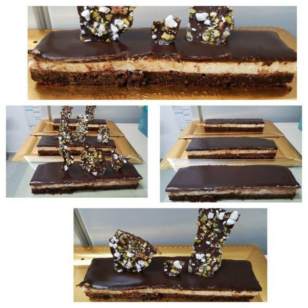 עוגת שוקולד גבינה