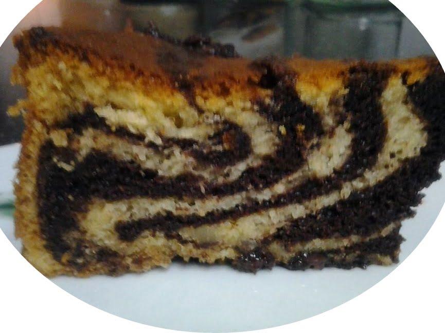 עוגת שוקולד ווניל