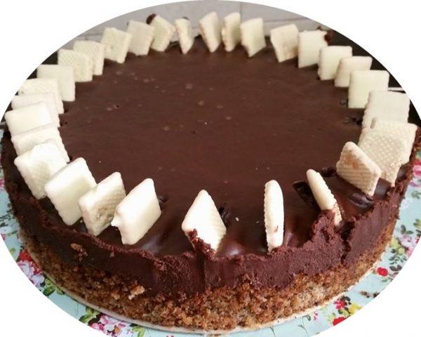 עוגת שוקולד ופרג