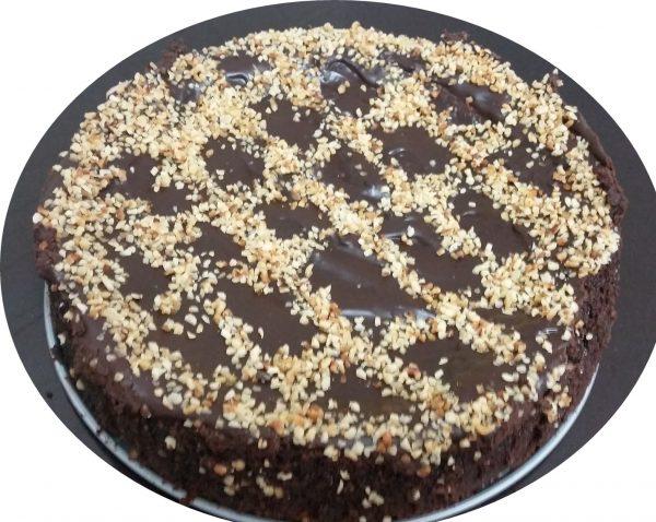 עוגת שוקולד ושקד לפסח וליום רגיל