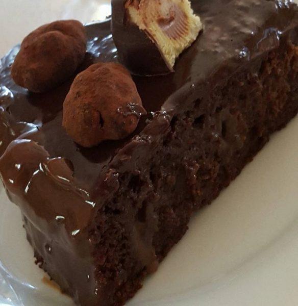 עוגת שוקולד_נורית יונה