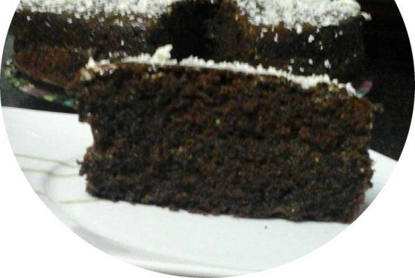 עוגת שוקולד קוקוס וקרם קפה