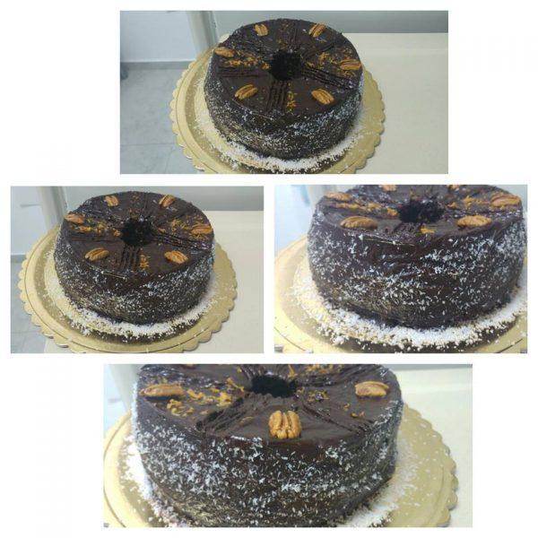עוגת שוקולד קלה ועסיסית