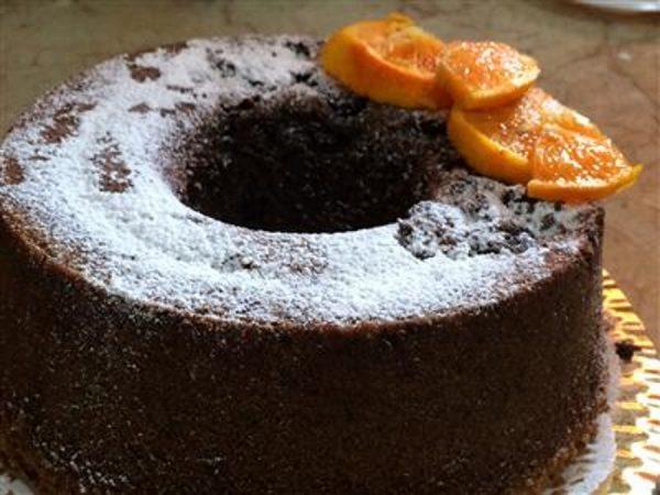 עוגת שוקולד תפוז