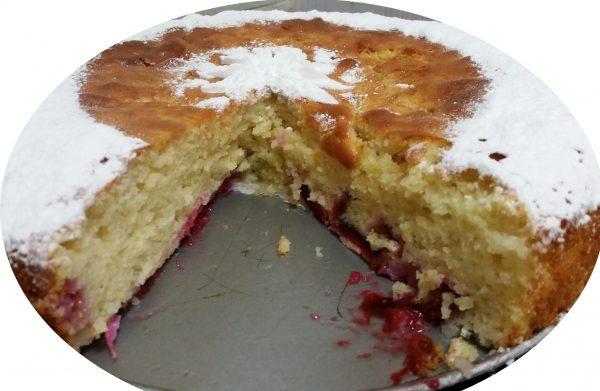 עוגת שזיפים דיאטטית