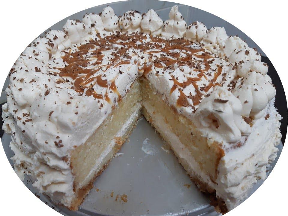 עוגת שיש,וניל וריבת חלב