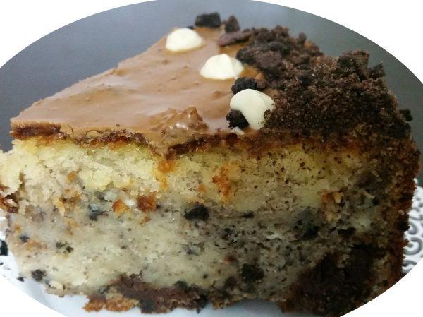 עוגת שיש ווניל אוראו בציפוי לוטוס