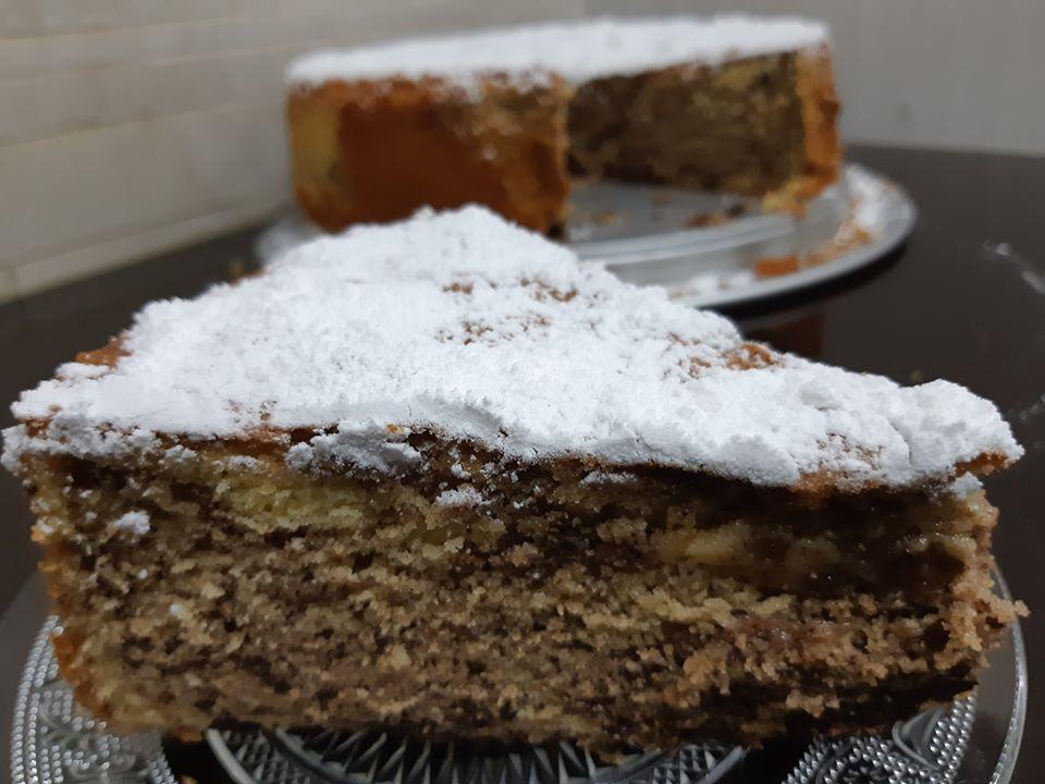 עוגת שיש עם שוקולד צ'יפס