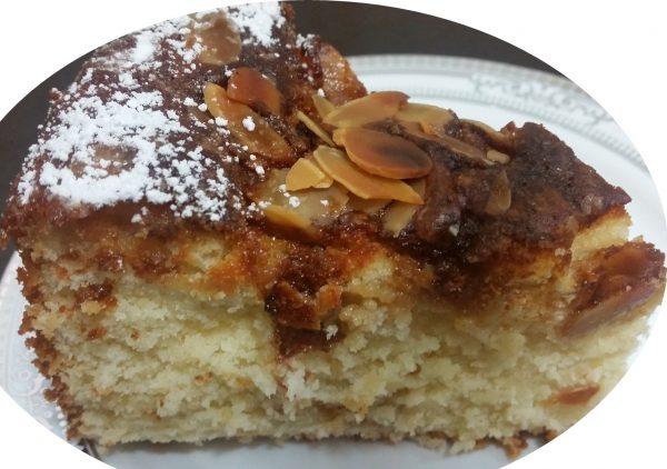 עוגת שמנת וניל ושקדים_מתכון של אורנה ועלני